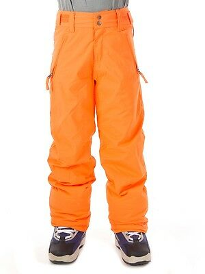 Protest Skihose Winterhose Schneehose Hopkins orange schnelltrocknend
