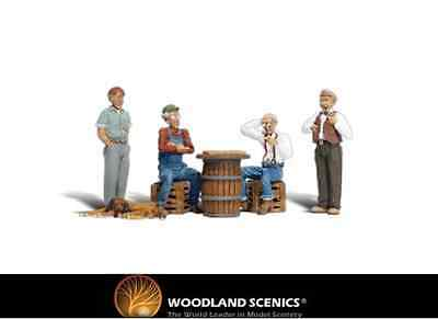 Woodland Scenics A2132 Checker Players Figures N Gauge
