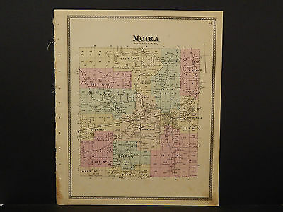 New York Franklin County Map 1876, Town of Moira Z2#36