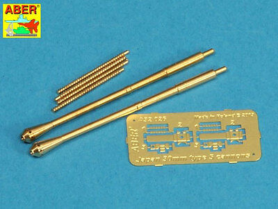 ABER 1/32 scale set of two Gun Barrels for Japanese Type 5 30mm Machine Guns