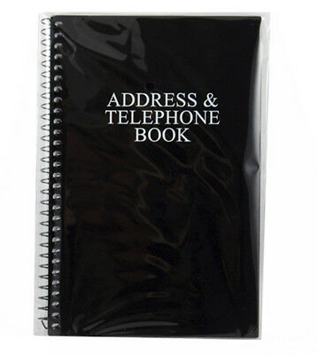 Primary Colors Address Black Silver Lettering Telephone Book  New In Package