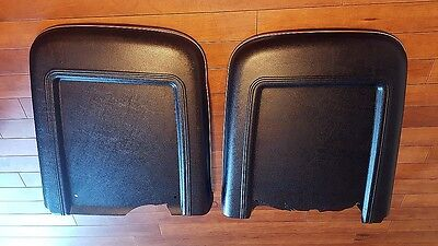 1967 1968 Ford Mustang Shelby Gt Deluxe Interior Seat Back Covers Stainless Trim