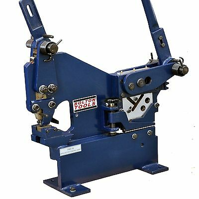 Bolton Tools Manual Ironworker with Sheet Metal Punch PBS-9