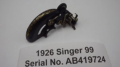 1926 Antique Orignial SINGER Sewing Machine Model 99 Bobbin Winder w/ Guard