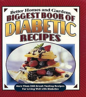Better Homes and Gardens Cooking: Biggest Book of Diabetic Recipes : More...