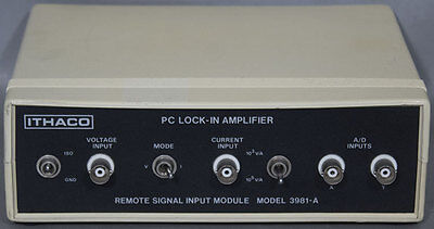 Ithaco 3981A/3981-A PC Lock-In Amplifier Remote Signal Module