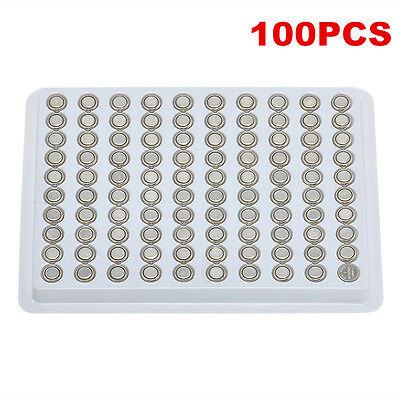 100 pcsSR626SW AG4 377 LR626 1.55V Button Coin Cell Alkaline Watch Battery