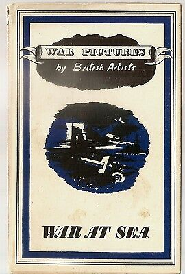 WAR AT SEA PICTURES BY BRITISH ARTISTS BATTLE OF BRITAIN ART WWII England 1942