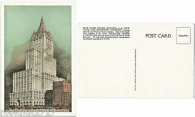 CPA postcard New Home Office Building of the NEW YORK Life Insurance Co [1082 A]