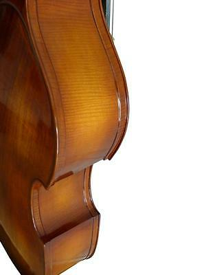 Double Bass 3/4 size new full-carved with bag and bow
