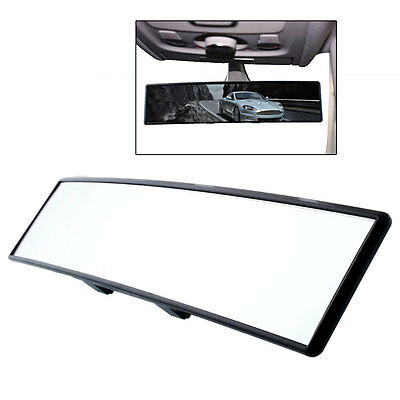 Car Large Angle 300mm Wide Curved Rear View Rearview Anti-glare Convex Mirror
