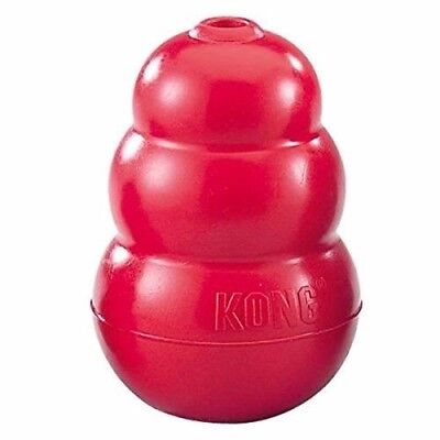 Classic Kong Rubber Red Dog Toy - X small, Small, Medium, Large , XL, XXL