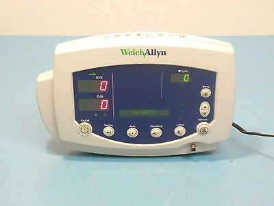 Welch Allyn 53000 (007-0098-01) Patient Monitor w/ Power Supply