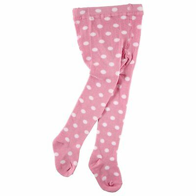 Luvable Friends Mary Jane Non-Skid Tights Baby And Toddler Girls Cotton New