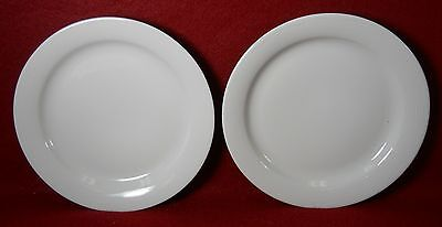 """ARZBERG china WHITE SKY pattern Set of Two (2) Bread & Butter Plates - 6-3/8"""""""