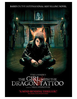 GIRL WITH THE DRAGON TATTOO(DVD,2010,Original Foriegn Classc iEnglish Dubbed)NEW