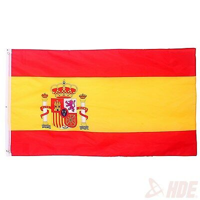 Spain Spanish National Flag Country Banner Outdoor Patio Football Pennant