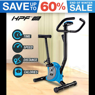 NEW HPF Exercise Bike Fitness Training Bicycle Home Gym Trainer Cycle Treadmill
