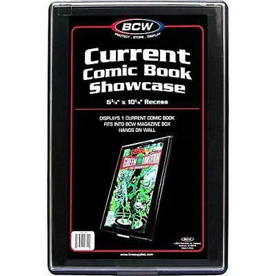 """CURRENT AGE Comic Book Showcase Display Case NEW 6 3/4"""" x 10 1/4"""" recess New"""