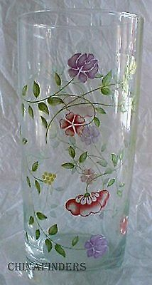 JOHNSON BROTHERS made in England SUMMER CHINTZ 16-oz Tumbler - 6-1/4""