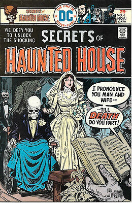 Secrets of Haunted House Comic Book #4, DC Comics 1975 FINE+
