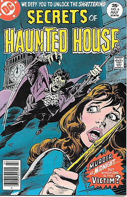 Secrets of Haunted House Comic Book #6, DC Comics 1977 VERY FINE