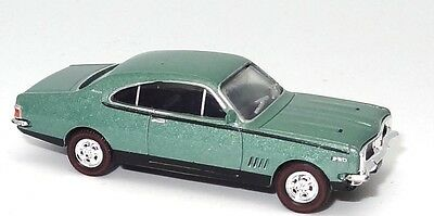 Ho Gauge 1970 Hg Gts Coupe - Silver Mist - New Diecast In Display Case