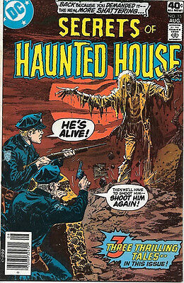 Secrets of Haunted House Comic Book #15, DC Comics 1979 FINE