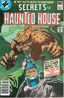 Secrets of Haunted House Comic Book #17, DC Comics 1979 VERY FINE-