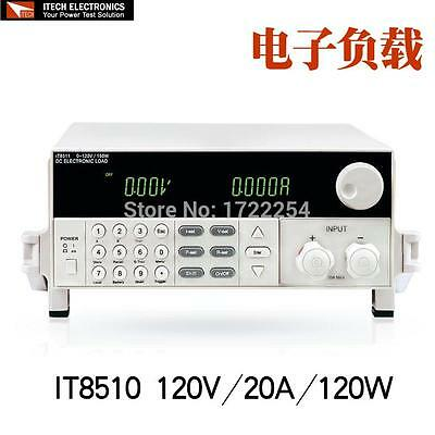 ITECH IT8510 Programmable DC Electronic Load 120V 20A 120W Load High-accuracy