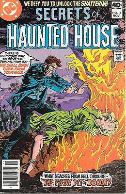 Secrets of Haunted House Comic Book #18, DC Comics 1979 VERY FINE+