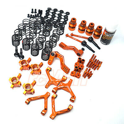 Yeah Racing RWD Drift Conversion Kit HPI Sprint 2 Orange EP RC Cars #SPT2-S04OR