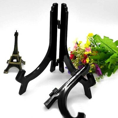4 Sizes Display Easel Stand Plate Bowl Frame Photo Picture Pedestal Holder Hot