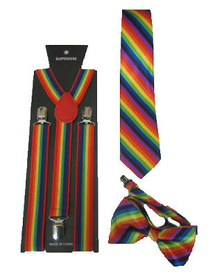 Gay Wedding Wear Accessories Gay Civil Partnership Accessories Rainbow Party New
