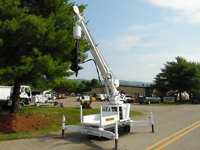 2000 Pitman Panther 4000T Back Yard Digger Derrick Mini Crane W/ Wireless Remote