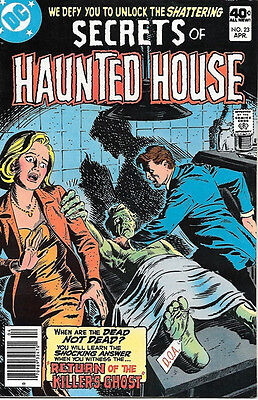 Secrets of Haunted House Comic Book #23, DC Comics 1980 VERY FINE