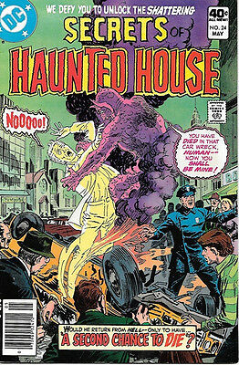 Secrets of Haunted House Comic Book #24, DC Comics 1980 VERY FINE-