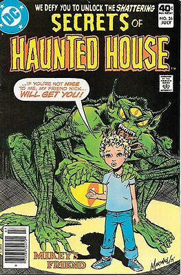 Secrets of Haunted House Comic Book #26, DC Comics 1980 FINE+