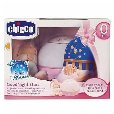Chicco Goodnight Stars Projector Night Light with Music (Pink) - RRP £24.99