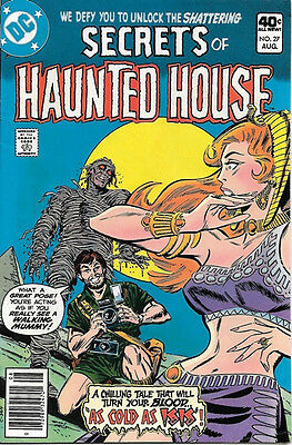 Secrets of Haunted House Comic Book #27, DC Comics 1980 VERY FINE