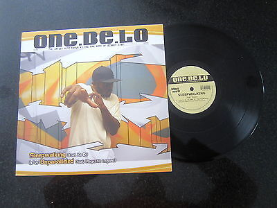 "One Be Lo ""sleepwalking"" / ""unparalleled"" 12"" (Hip Hop, Conscious)"
