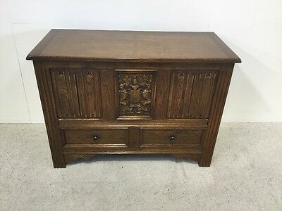 Antique Oak Mule Chest Blanket Box Good Colour More Blanket Boxes In Stock