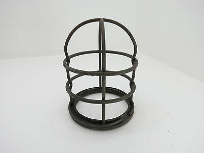 5+5/8 Inch Tall Galvanized Steel Light Cage Frame Boat Ship  (#1835)