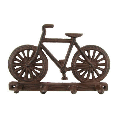 New Metal Wall Mount Bicycle Hook Rack Hat/Key Ring Bike Hooks Rustic Home Decor