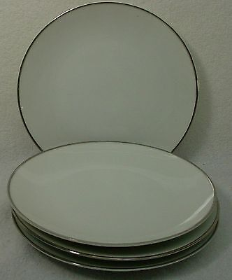 """NORITAKE china FREMONT 6127 pattern Bread & Butter Plate -Set of Four (4) 6-3/8"""""""