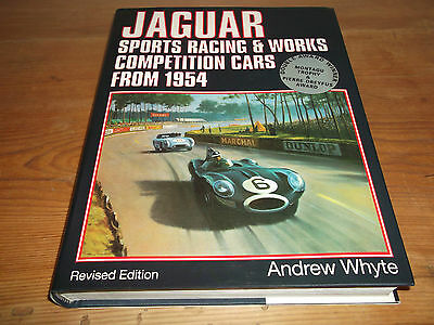 Book. Jaguar. Sports Racing & Works Competition Cars From 1954 Andrew Whyte 2002