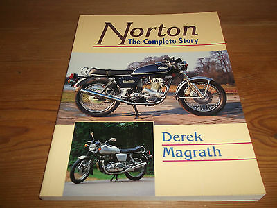 Book. Norton Motorcycle. The Complete Story. Derek Magrath. Crowood. 1st.