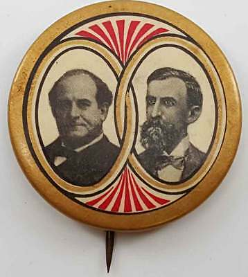 Rare Bryan and Kern 1908 President Campaign Button - Seldom Seen Variety