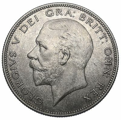 1936 Halfcrown - George V British Silver Coin - V Nice