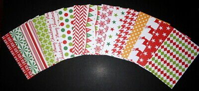 "*CHRISTMAS 2016* Colourful Christmas Scrapbooking Papers *15cm x 10cm (6 ""X 4"")"